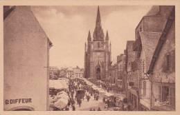 21468 Hennebont - La Place De L'Eglise -16 Nozais - Coiffeur (le Marché)