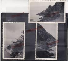 Pléneuf Côtes D´Armor Juillet 1939 Excellent état Format 6.7 Par 11.2 Cm Ensemble 3 Photos - Lieux