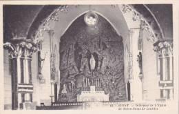 21483 Auray, Intérieur De L'Eglise Notre Dame De Lourdes - 87 Artaud -saint Goustan - Auray