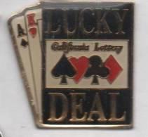 Jeu De Cartes , Lucky Deal , California Lottery , Poker - Jeux