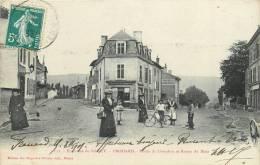 54 FROUARD ROUTE DE LIVERDUN ET ROUTE DE METZ - Frouard
