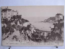 Monaco - Monte Carlo - Le Ravin De Sainte Dévôte - Scan Recto-verso - Monaco