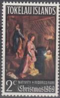 Tokelau Islands 1969 Michel 13 Neuf ** Cote (2005) 0.50 Euro Noël - Tokelau