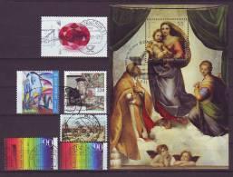 BRD - 2012 - Höhere Werte + Block 79 ( ESST Bonn ) - Gestempelt - Stamps