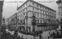 Grand Hotel Milan, Onoranze O Verdi, 12 Ottobre 1913 - Milano (Milan)