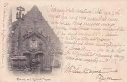 21502  PLOERMEL -Eglise Du Taupont - - Sans éd -ecrite Pigeon Couedic Ruffiac 1902 - Ploërmel