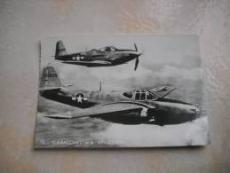 CPSM AVION L'Aircomet Et Le Kingcobra - Avions