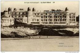 17-ROYAN-Pontaillac-Le Golf-Hôtel-Carte Publicitaire - Royan