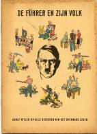 Brochure Propagande Ww 2 Hitler Le Fuhrer Et Son Peuple - 1939-45