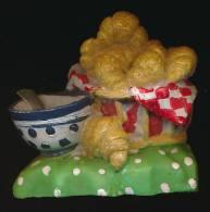 MAGNET : PETIT-DEJEUNER, Bol, Corbeille, Croissants Mis En Scéne - Magnets
