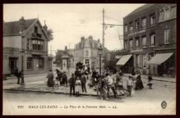 Cpa Du  59  Malo Les Bains  La Place De La Fontaine  Malo     SAB15 - Malo Les Bains