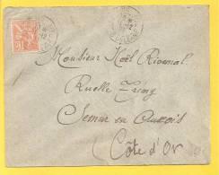 LETTRE N° 117 Obl PARIS - Storia Postale