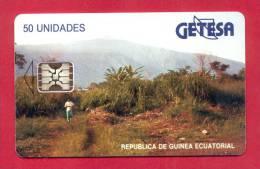 """EQUATORIAL GUINEA: EQG-05 """"Landscape"""" Reverse A"""