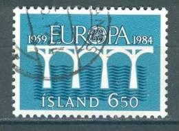 Iceland, Yvert No 567 + - Islande