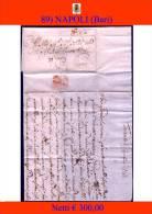 Bari-00089 - Piego (con Testo), Del 9 Aprile 1765 - - Italia