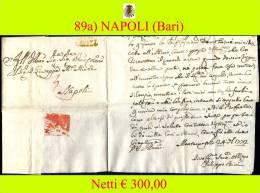 Bari-00089a - Piego (con Testo), Del 24 Gennaio 1772 - - Italia