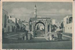 LAR - LIBYEN - TRIPOLI - Arco Di Marco Aurelio 1942, Written From A German In II.WW - Libyen