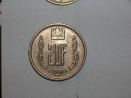 Luxemburgo 20 Francos 1980 (4735) - Luxembourg