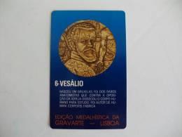 Vesálio Portuguese Pocket Calendar 1985/1986 - Tamaño Pequeño : 1981-90