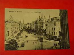 POLOGNE-BEUTHEN O SCHLES-KAISER FRANZ JOSEPH PLATZ-ANIMEE - Polen