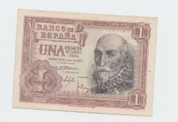 Spain 1 Peseta 1953 XF CRISP Beautiful Banknote P 144 - [ 3] 1936-1975 : Régence De Franco