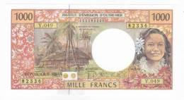 """Polynésie Française / Tahiti - 1000 FCFP / Y.049 / 2012 / """"Nouvelles Signatures"""" - Neuf / Jamais Circulé - Papeete (Polynésie Française 1914-1985)"""