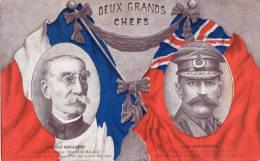 - CPA - Deux Grands Chefs - Général Galliéni, Lord Kitchener - 447 - Personen