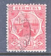 Bermuda  42a  (o)  SAILING SHIP - Bermuda