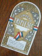 CURACAO TRIPLE-SEC ( Dép  6704  MvdH ) ( Details Op Foto ) !! - Labels