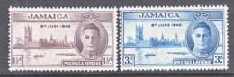 Jamaica  136a-37a  Perf  13 1/2 X 14, 13 1/2  * - Jamaica (1962-...)