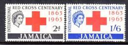 Jamaica  203-4  *  RED  CROSS - Jamaica (1962-...)
