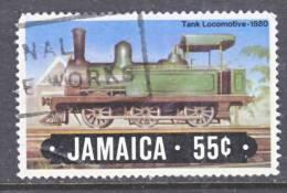 Jamaica  584  (o)  TRAIN - Jamaica (1962-...)