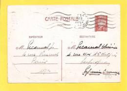 FRANCE CP N° ENTIER 515 Obl De PARIS - 1941-42 Pétain
