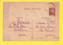 FRANCE CP N° ENTIER 512 Obl De PARIS - 1941-42 Pétain