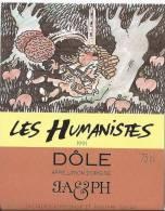 """14 - Les Humanistes Par Pécub Le Repos Du  Cerveau """" Dôle Cave Taillefer Sierre"""" - Humour"""