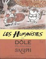 """17 - Les Humanistes Par Pécub Le Père Noël Livreur De Cerveaux """" Dôle Cave Taillefer Sierre"""" - Humour"""