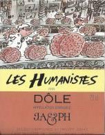 """18 - Les Humanistes Par Pécub  Chaîne  De Cerveaux """" Dôle Cave Taillefer Sierre"""" - Humour"""
