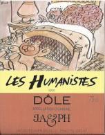"""22 - Les Humanistes Par Pécub  Comment Bien Dormir Avec Son Cerveau """" Dôle Cave Taillefer Sierre"""" - Humour"""