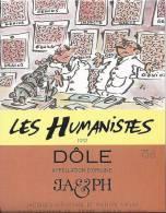 """23 - Les Humanistes Par Pécub  Genius """" Dôle Cave Taillefer Sierre"""" - Humour"""