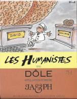 """24 - Les Humanistes Par Pécub  David & Goliath """" Dôle Cave Taillefer Sierre"""" - Humour"""