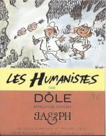 """25 - Les Humanistes Par Pécub  Couple """" Dôle Cave Taillefer Sierre"""" - Humour"""