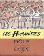 """27 - Les Humanistes Par Pécub  Au Bar """" Dôle Cave Taillefer Sierre"""" - Humour"""
