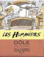 """28 - Les Humanistes Par Pécub  Comment Fabriquer Un Petit Génie  """" Dôle Cave Taillefer Sierre"""" - Humour"""