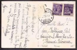 F5275  - TASSATA LUOGOTENENZA - 5. 1944-46 Lieutenance & Humberto II