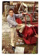 Vive St Eloi; Agriculteur Et Moissonneuse Batteuse Ou Faucheuse; Carte Belge; 1976, TB - Tracteurs