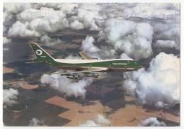 TRANSPORT AIRPLANES IRAQI AIRWAY'S BOEING 747 IRAQ BIG POSTCARD - 1946-....: Moderne