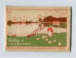 ILLUSTRATEUR-H.CASSIERS-B Elgique-Serie VICHY Et Ses Environs-CUSSET-CHATELDON -12CP-Pochette-Dietrich-Etat-TB- - Künstlerkarten