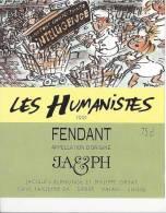 """40 - Les Humanistes Par Pécub Course De Caddies  """" Fendant Cave Taillefer Sierre"""" - Humour"""