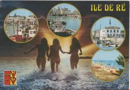 Ile De Ré** Belle Carte ** Ed. Estel  (timbre Rouge 2,20 Frs De 1989) - Ile De Ré