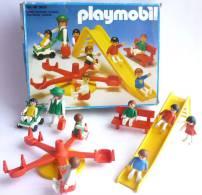 RARE BOITE PLAYMOBIL 3416 JARDIN D'ENFANTS AVEC JEUX DU SQUARE - Playmobil